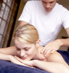 refreshing massage in your home